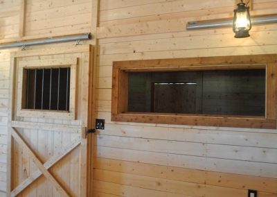 Horse Stall in Barn