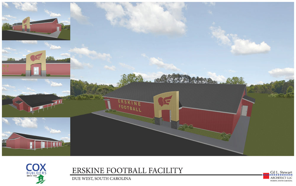 Erskine-Football-Facility-2019 - Cox Builders Group